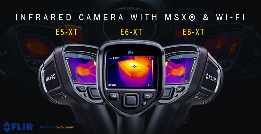 New Flir Ex-XT Infrared Camera With MSX & WI-FI